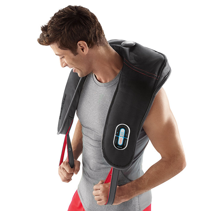Brookstone Neck & Shoulder Sport Massager with Heat