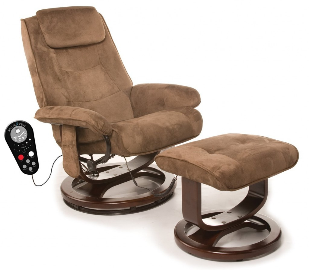 ... Massage Reclining Chair With Heat. Relaxzen 60 078011