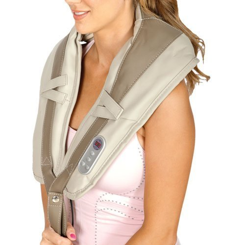 Iliving ILG-916 Neck and Shoulder Tapping Massager with Heat